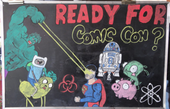 1 DSC02212 590x378 SDCC: To The Convention Center... And Beyond!