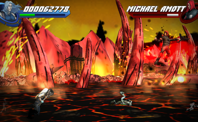"Rock Out With Eternal Descent's ""Heavy Metal Heroes"" iOS Game"