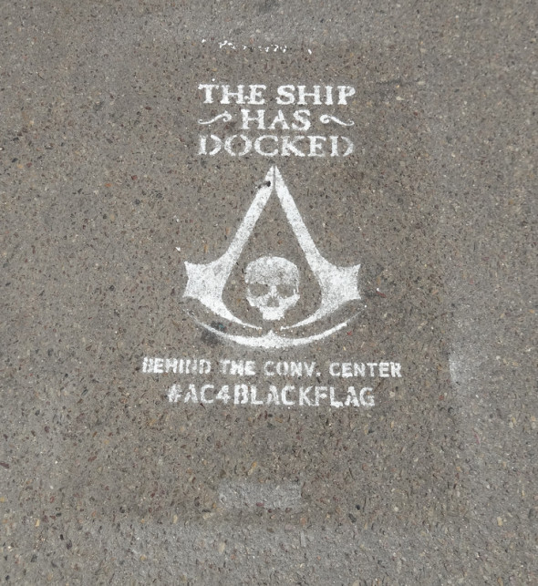 Assasins Creed 4 Pirate Ship SDCC 590x643 SDCC: To The Convention Center... And Beyond!