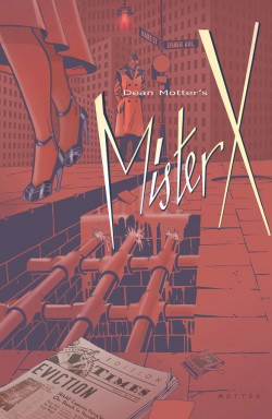 Mister X: Eviction # 3 Review