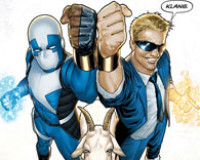 5-star Review: Quantum and Woody #1