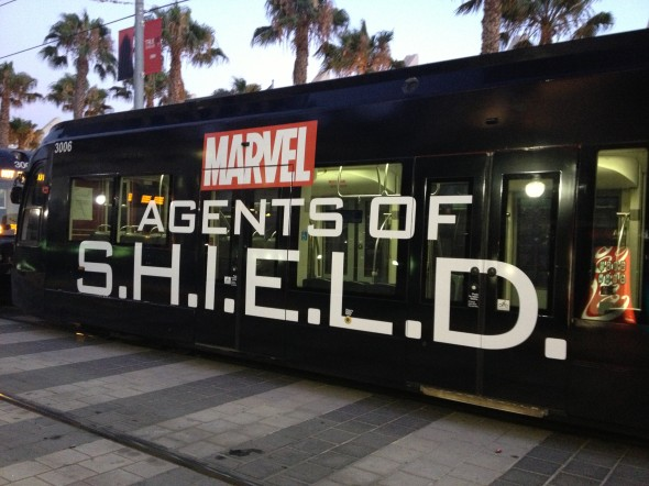 SHIELD tram SDCC 590x442 SDCC: To The Convention Center... And Beyond!