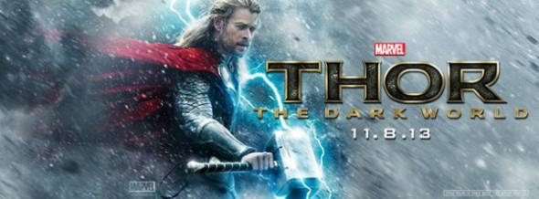 Thor The Dark World Banner