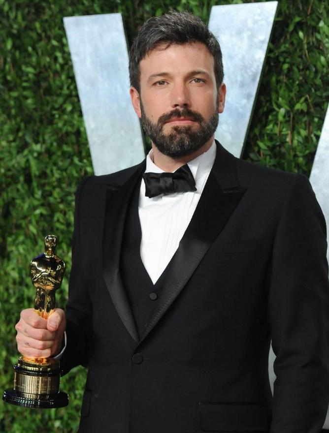 Ben Affleck and his Oscar