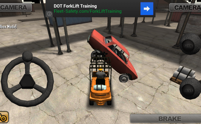 WEIRD GAME WEDNESDAY: Extreme Forklifting (Google Play)