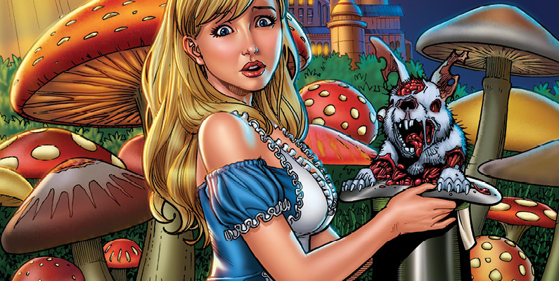 Grimm Fairy Tales presents Wonderland-Down the Rabbit Hole 4_C
