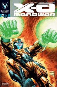 X-O Manowar #17 Review