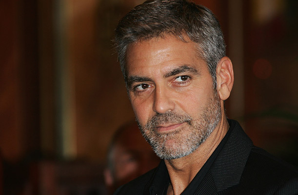 george clooney banner