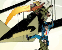 The Rocketeer / The Spirit: Pulp Friction #2