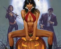 Vampirella Halloween Special 2013 Review