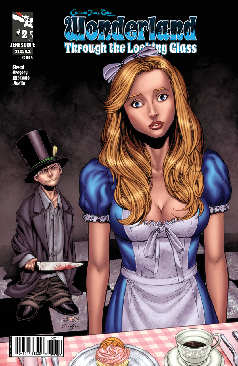 Grimm Fairy Tales presents Wonderland-Through the Looking Glass 2_C