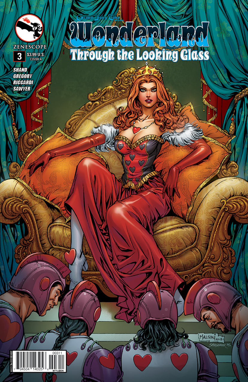 Grimm Fairy Tales presents Wonderland-Through the Looking Glass 3_C