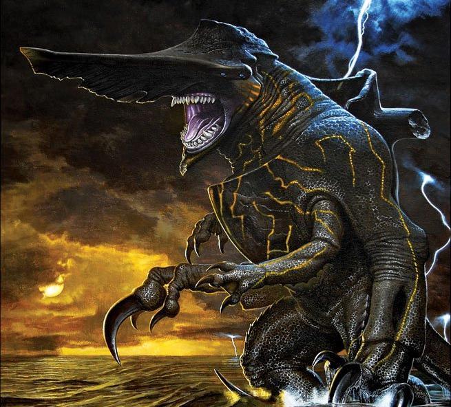 Raiju Kaiju : Raiju (ライジュウ raijuu?) is a category iv kaiju.