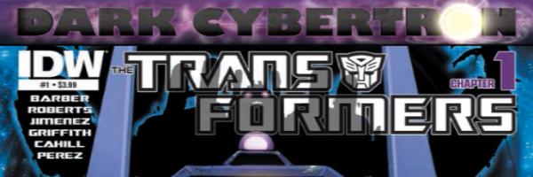 Transformers Dark Cybertron Banner