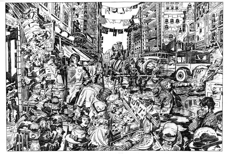Jack Kirby's Lower East Side