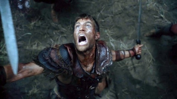 liam-mcintyre-screamming-bloody-farewell-in-spartacus-war-of-the-damned-e1376687732677