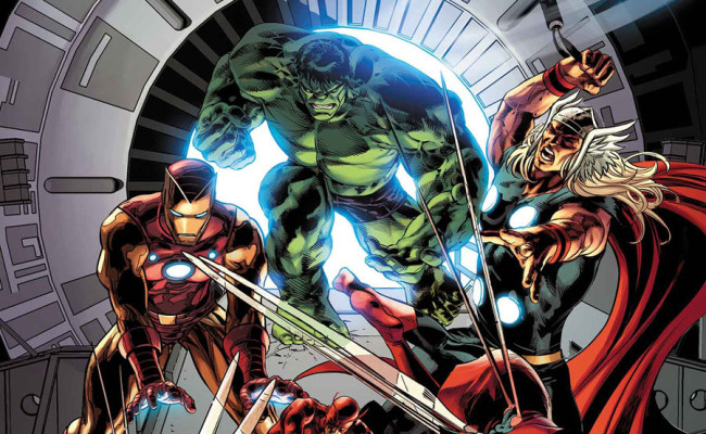 FIRST LOOK! Avengers #25