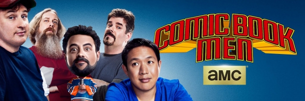 Comic Book Men AMC Interview Banner End