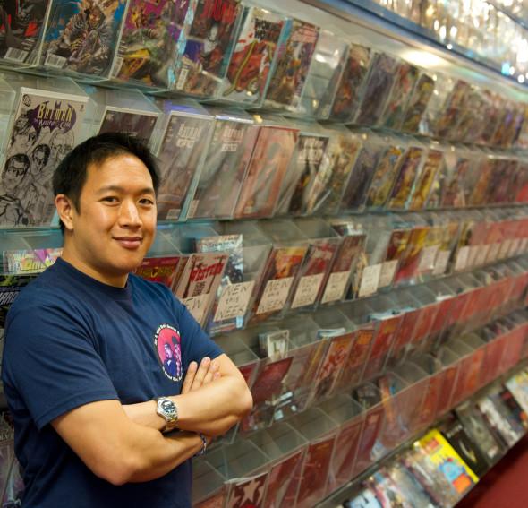 Ming - Comic Book Men - Season 1 - Photo Credit: David Russell/AMC