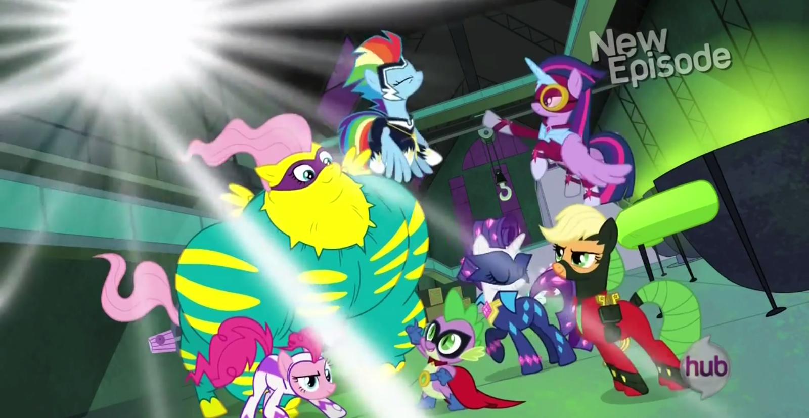 my little pony friendship is magic power ponies review unleash