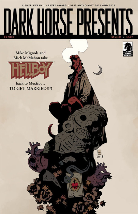 dark horse presents 31 review cover