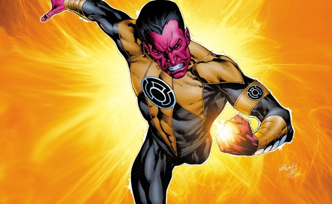 Be Afraid! DC COMICS Gives SINESTRO Ongoing Series