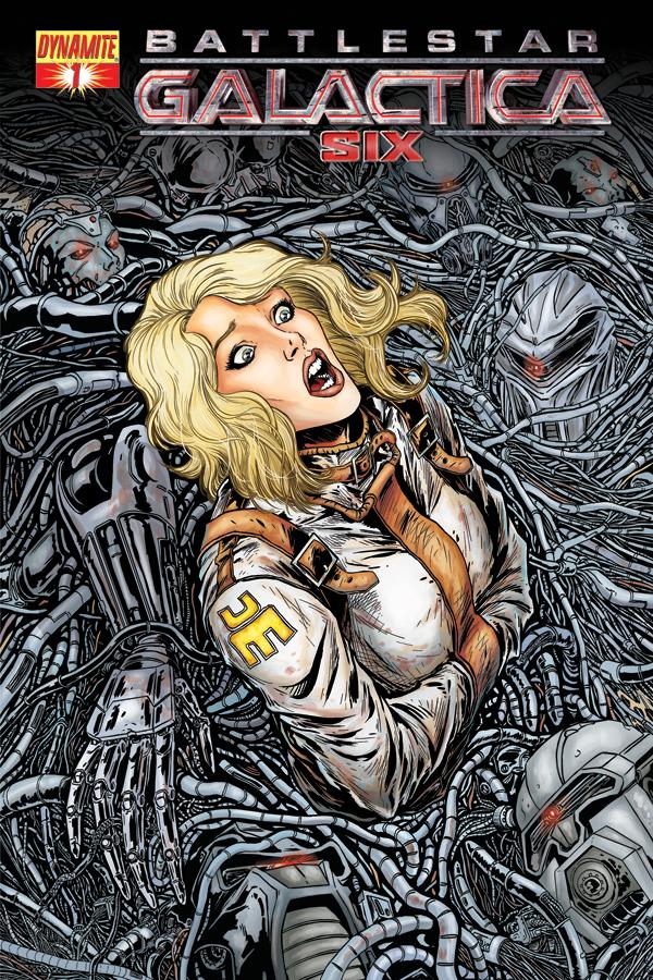 Battlestar Galactica-Six 1_Preview Cover A