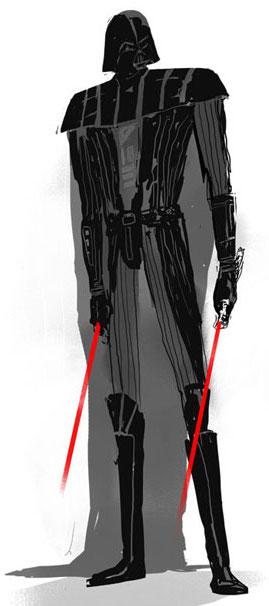 Darth Vader by Justin Harder