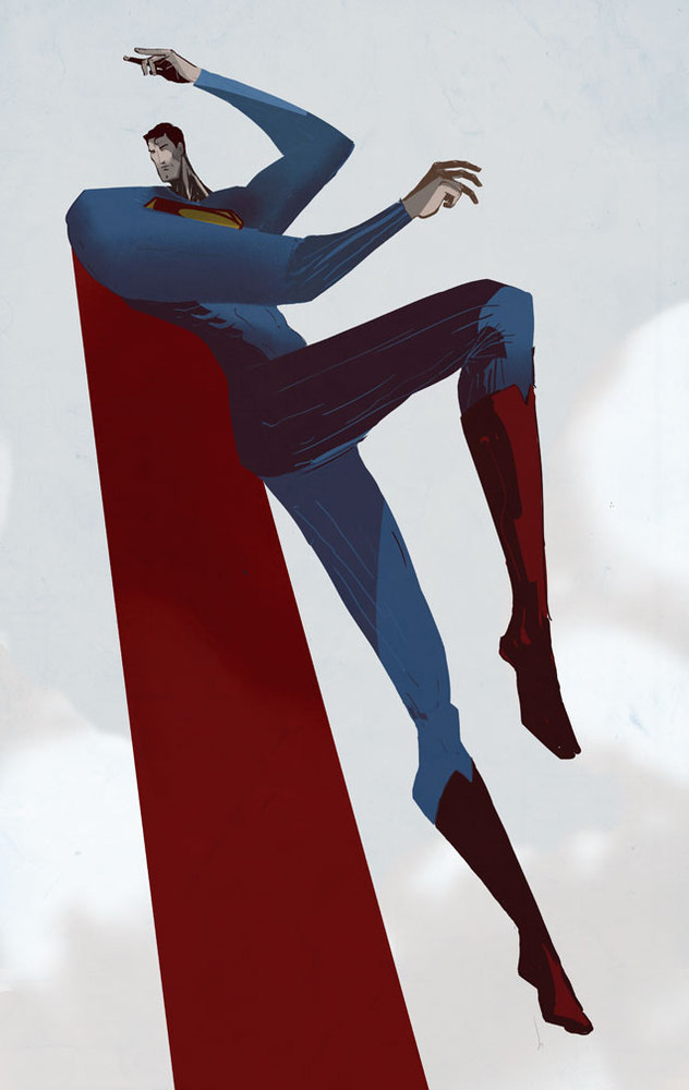Superman by Justin Harder