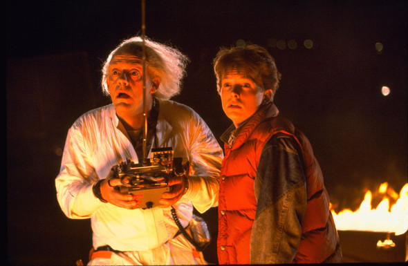 back to the future doc and marty