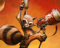 Rocket Raccoon To Murder Competition in New Ongoing by Scottie Young