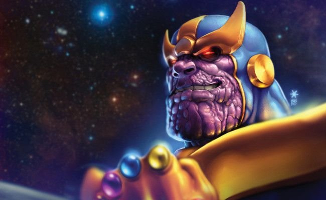 THANOS! Full Pic of Mad Titan Leaks And It's GLORIOUS!!!