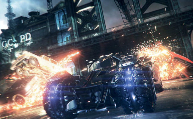 BATMAN: ARKHAM KNIGHT delayed to 2015, Batmobile revealed