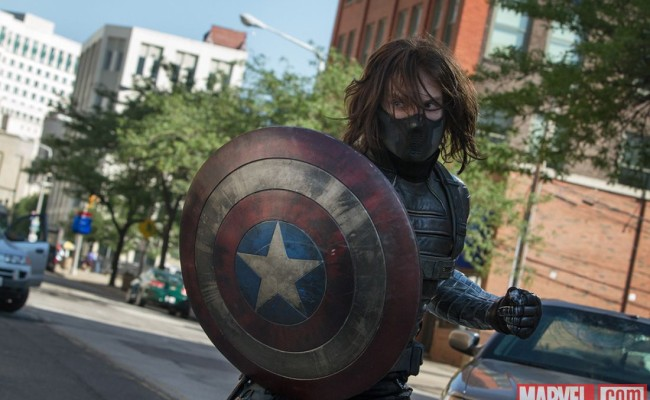 Winter Soldier Gets His Very Own CAPTAIN AMERICA: THE WINTER SOLDIER Poster