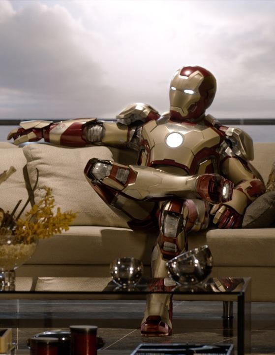 Iron Man 3 Relaxing Pose