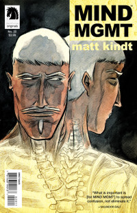 Mind MGMT 20 Cover