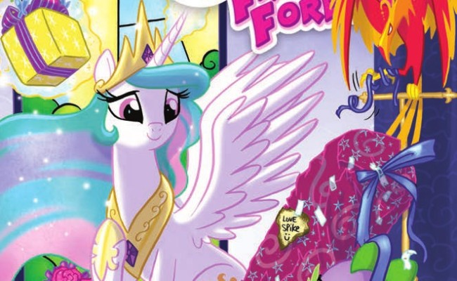 FIRST LOOK!  My Little Pony: Friends Forever #3