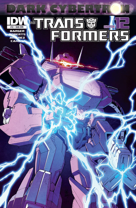 Transformers_Dark Cybertron_alternative cover