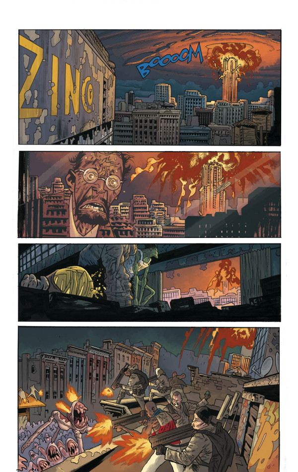 B.P.R.D. Hell on Earth 118_Preview Page