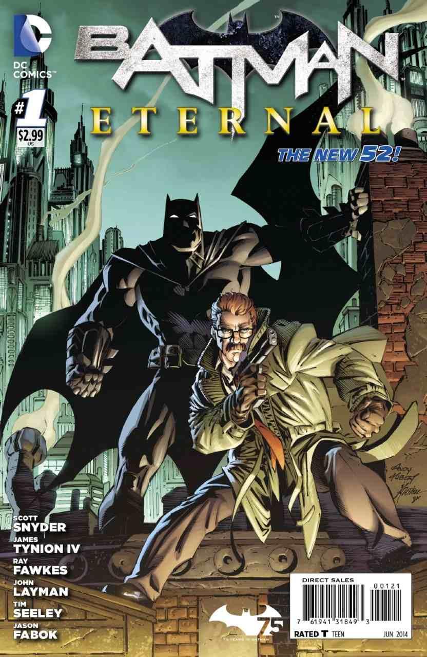Batman Eternal #1 variant