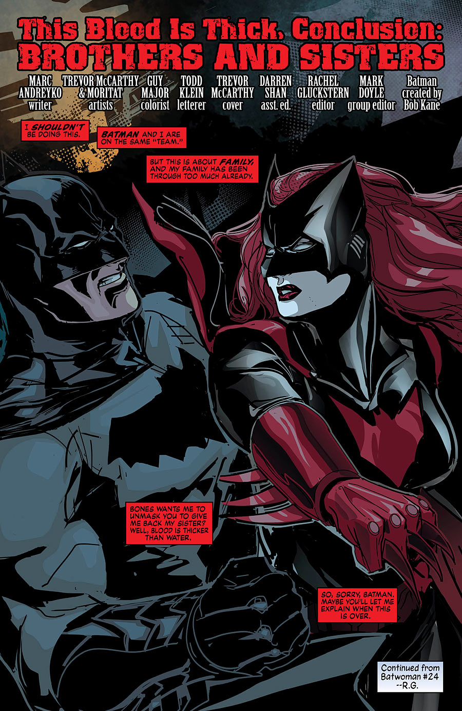 Batwoman Annual 1_Preview Page