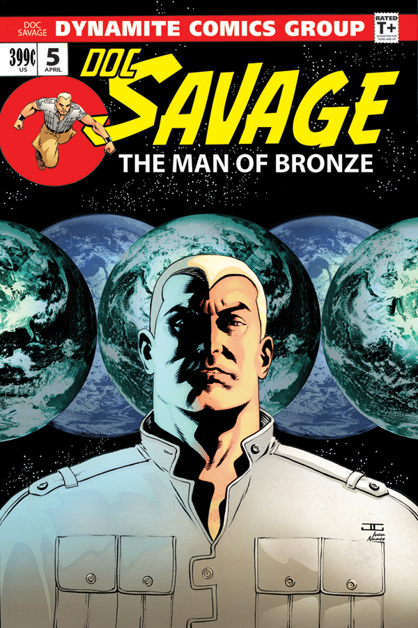 Doc Savage 5_Variant Cover