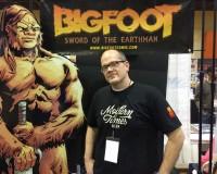 EXCLUSIVE: Josh Henaman talks BIGFOOT – SWORD OF THE EARTHMAN