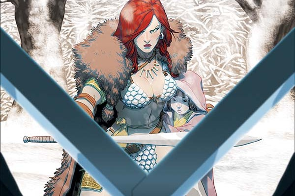 Red Sonja and Cub (one-shot)_C