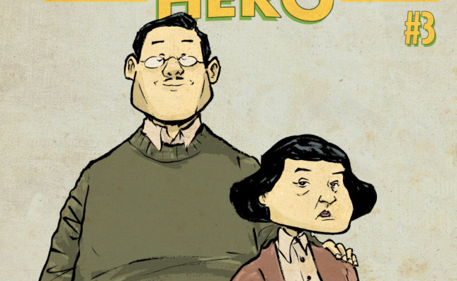 The Shadow Hero #3: Review