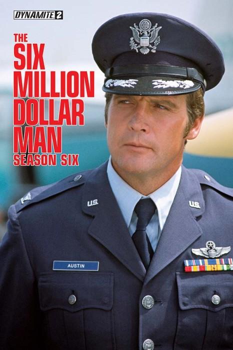 Six Million Dollar Man Series 6 Issue 2 alternative
