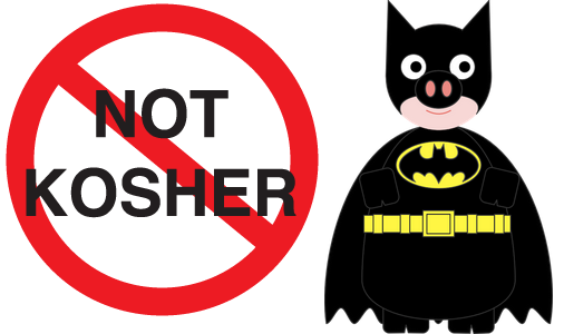 batman not kosher