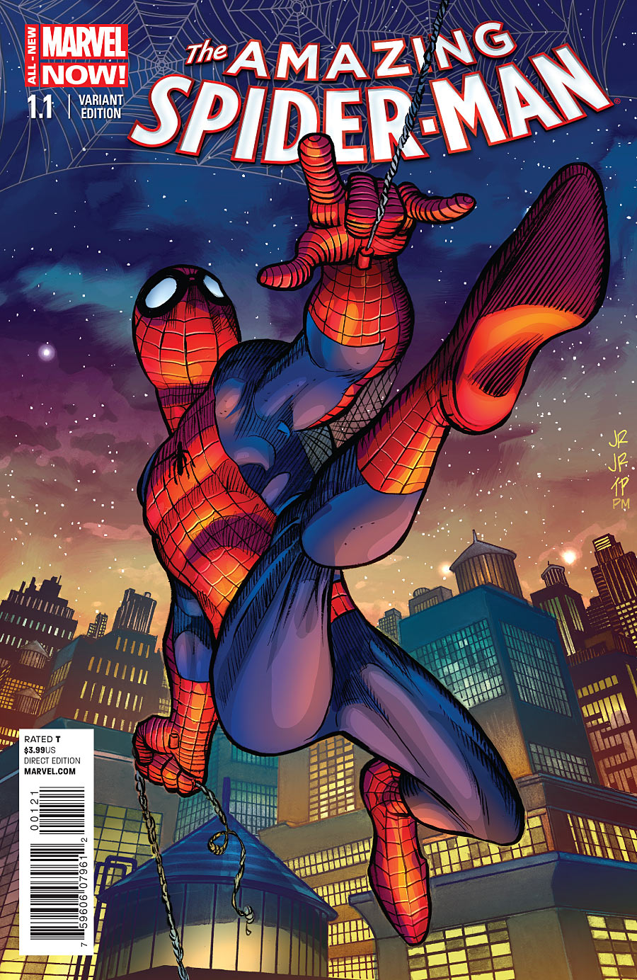 Amazing Spider-Man 1.1_Variant Cover