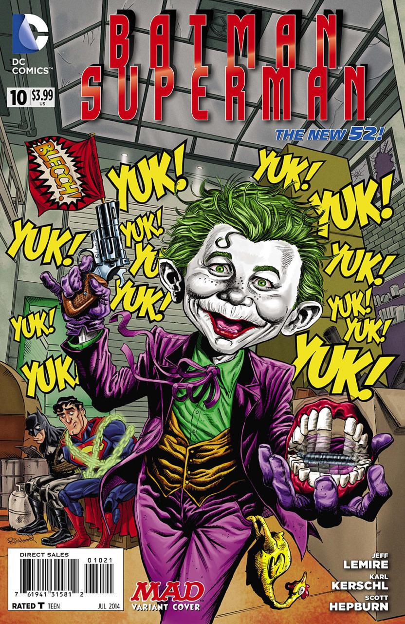 Batman Superman #10 variant