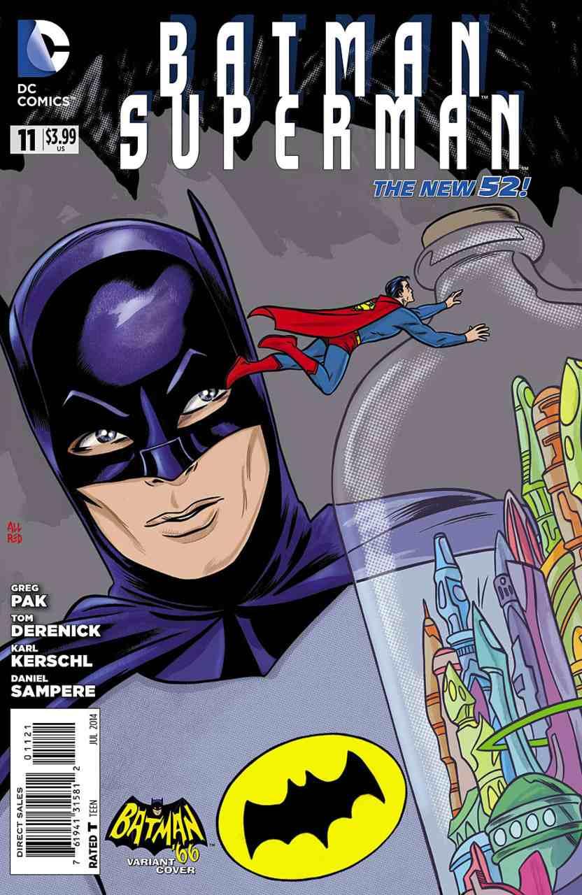 Batman Superman #11 variant